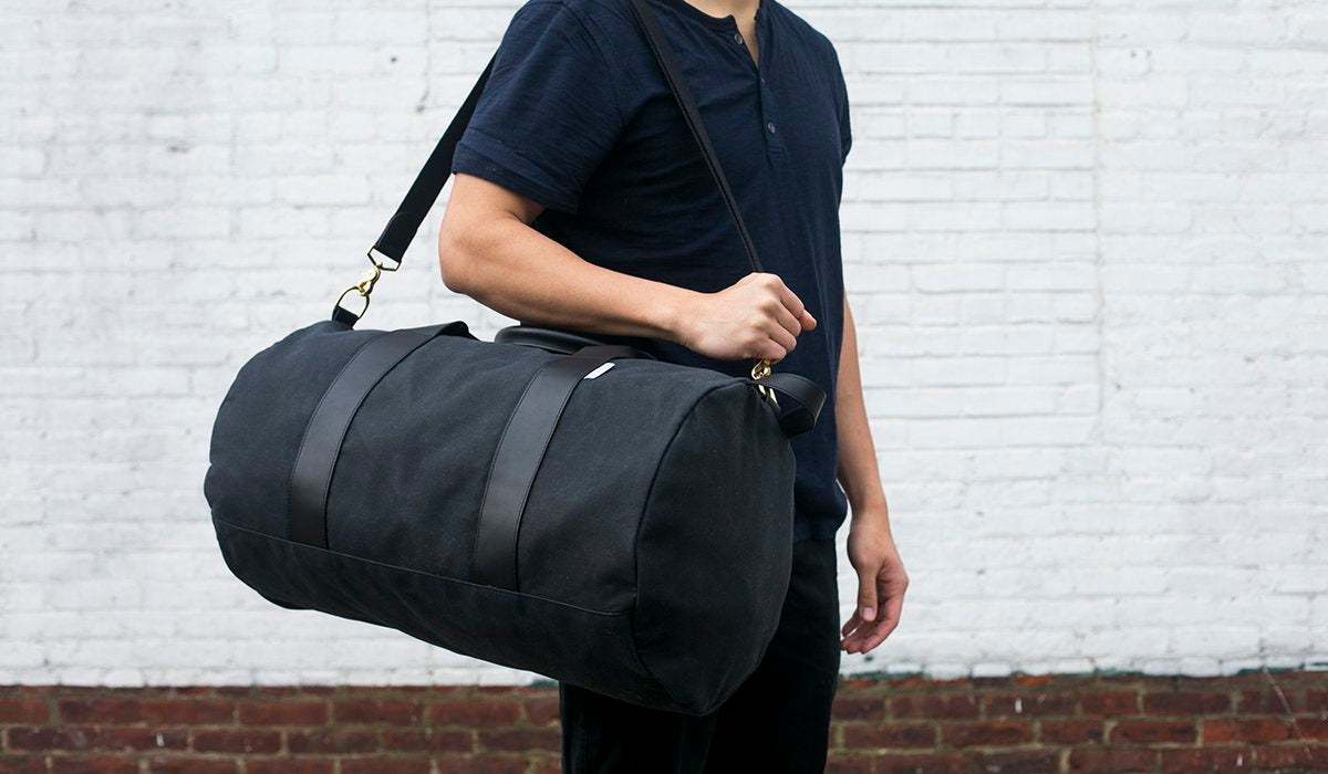 men's duffel and gym bags