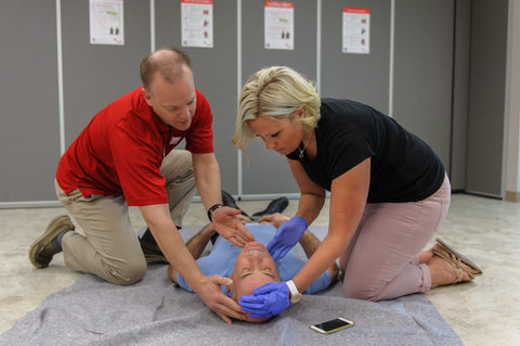 Blended (Online) Learning Emergency First Aid and CPR/AED Level C (without in class)