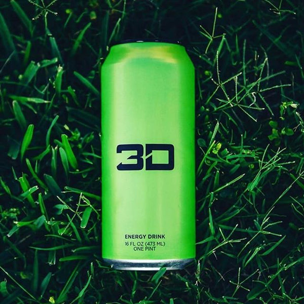 3D Energy Drinks by Christian Guzman