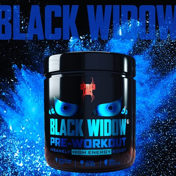 BLACK WIDOW PRE-WORKOUT