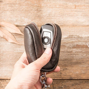 Handmade Men's Waist Hanging Coin Purse Keychain