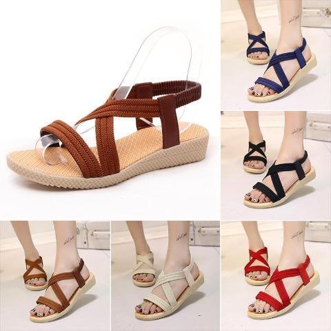 Women's Comfy Flat Heel Sandals
