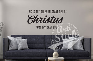 Ek is tot alles in staat