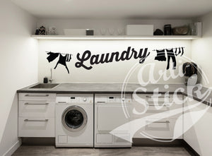 Laundry washline