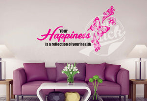 Your happiness is a reflection of your health