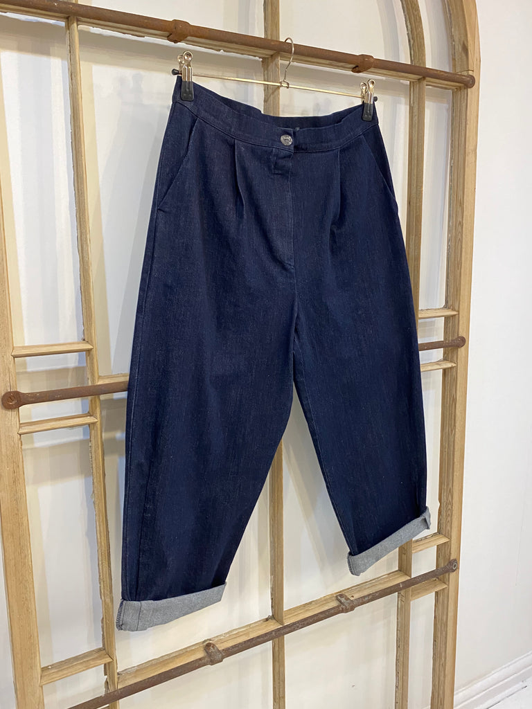 P24 2DE Denim Trousers