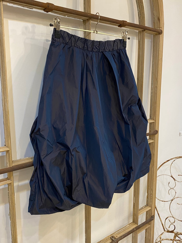 GRANITA Shot Taffeta Skirt - Blue