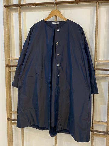 ROX Shot Taffeta Coat - Blue