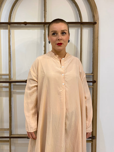 #227 Silk Tunic - Blush