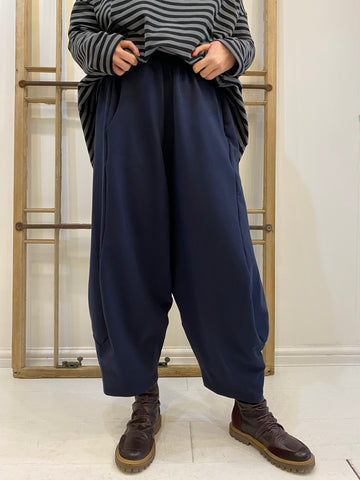 Mercoledi Jersey Trousers - Navy