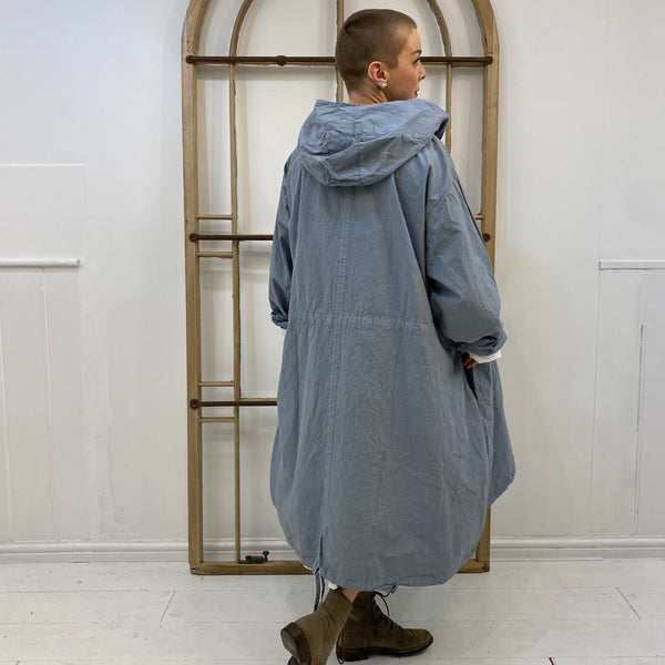 Wildkruäuz Crunchy Cotton Parka - Blue