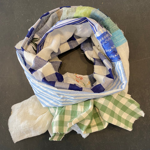 Patchwork Scarf - Design 6