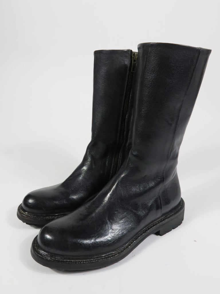 11098 Mid Length Boot in Midnight