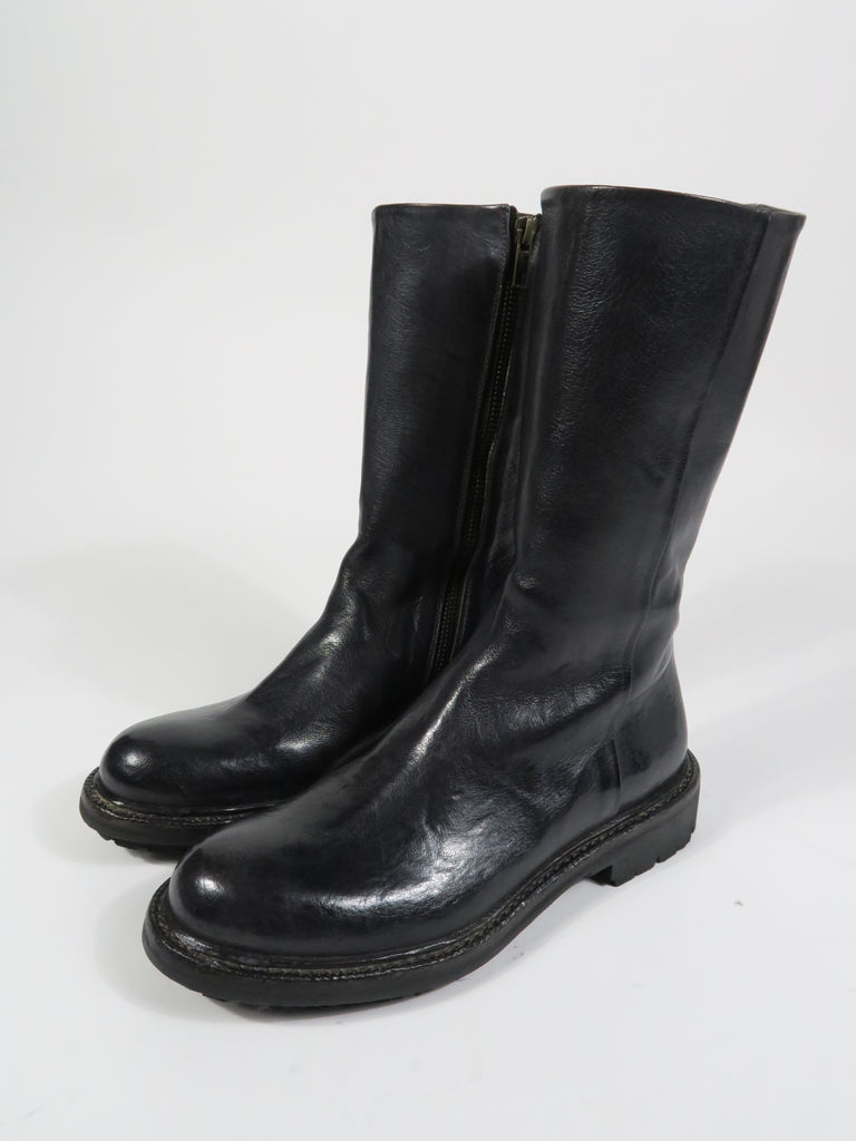 11098 Mid Length Boot in Dark Grey