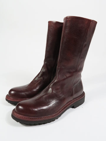 11098 Mid Length Boot in Burgundy