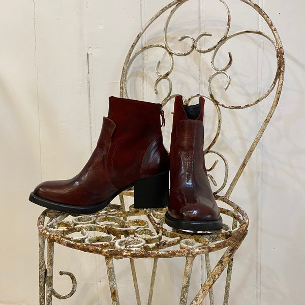 N1 Ankle Boot - Chianti
