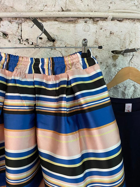 Elba Skirt Pink & Blue