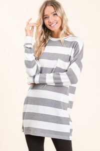 Ultra Soft Stripe Sweater