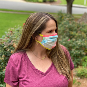 Adult Non Medical Tie Dye Face Cover