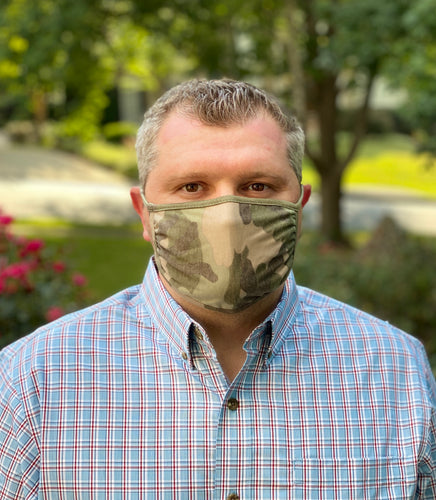 Adult Non Medical Camo Face Cover