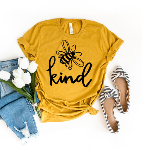 New Bee Kind Tees