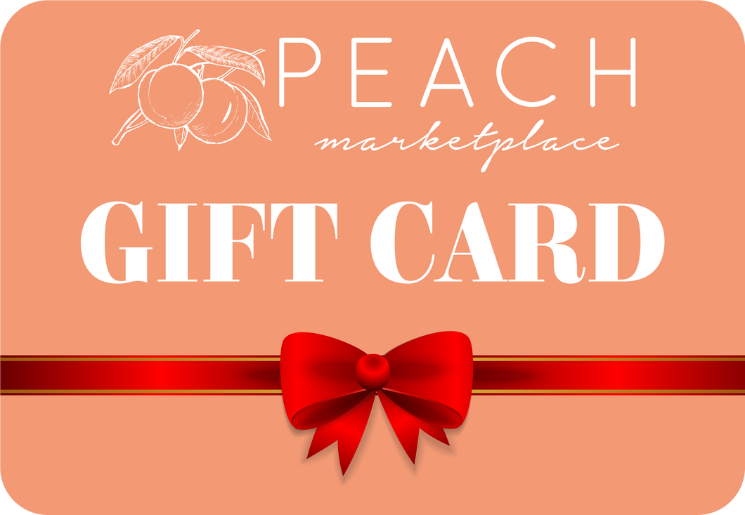 Peach Marketplace Gift Card