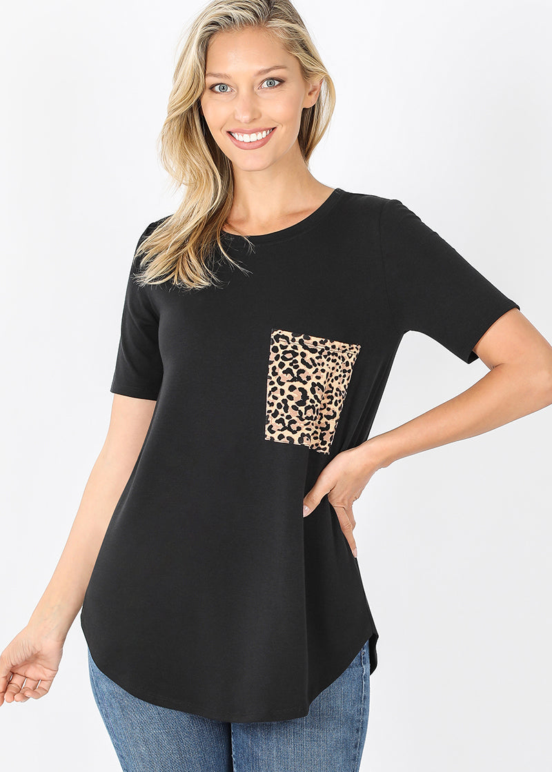 Leopard Pocket Tunic
