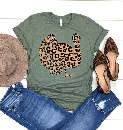 Leopard Turkey Tees