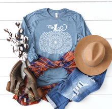 Long Sleeve Mandala Pumpkin