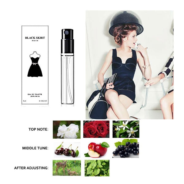 3ml Original Perfume For Women And Men Atomizer Bottle Glass Fashion Lady Long Lasting Female Parfum Flower Fragrance Deodorant