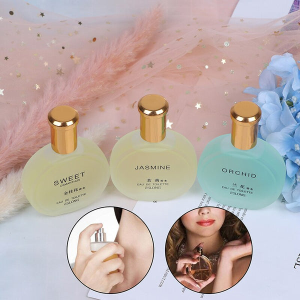 30ml Female Fragrant Spray Long Lasting Fragrance Jasmine Floral Incense Osmanthus Orchid Fragrance Scent Fresh Air Aroma