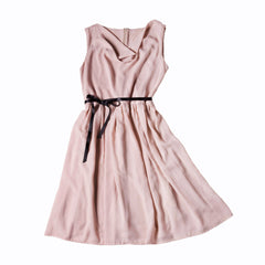 Pale Pink Bow Dress