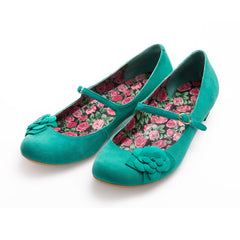Emerald Ballerina Pumps