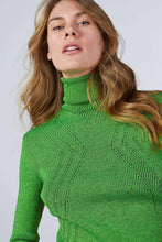 NEON TURTLE NECK KNITWEAR SWEATER