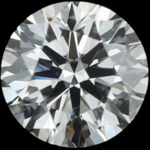 1.00 Carat ROUND / VVS1 / I Color Natural Diamond