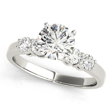 Load image into Gallery viewer, Glamorous Round Cut Five Stone Engagement Ring