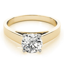 Load image into Gallery viewer, Classic Cathedral Style Solitaire Engagement Ring