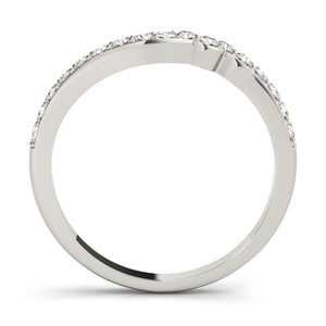 4-Prong Round Cut Engagement Ring with Bezel Set Accents