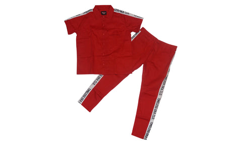 Work Suit - Red