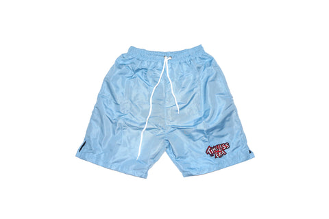 Nylon Shorts - Baby Blue
