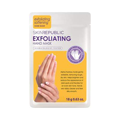 buy Skin Republic Exfoliating Hand Mask at Beautology Online.