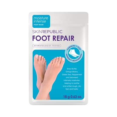 Skin Republic SKIN REPUBLIC Foot Repair Mask | Beautology.