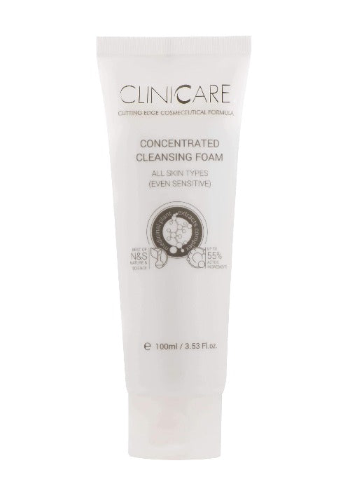 Cliniccare CLINICCARE Concentrated Cleansing Foam 100ml | Beautology.