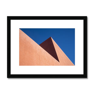 Santa Fe Adobe_1 Framed & Mounted Print