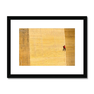 Corey Rich_Tommy Caldwell Framed & Mounted Print