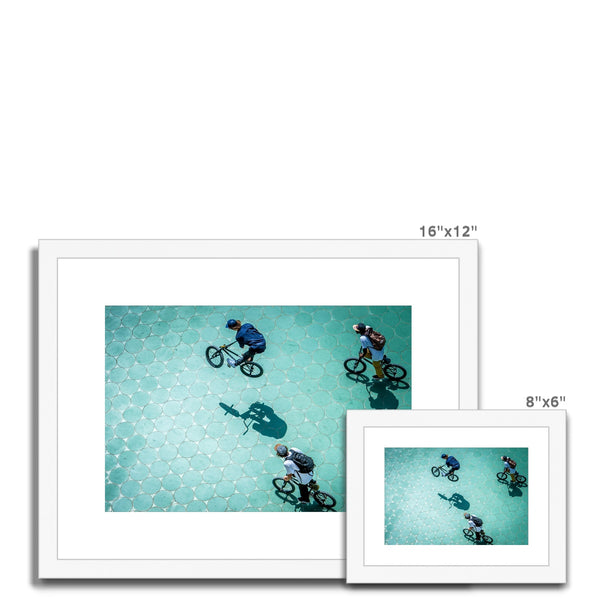 Olaf Pignataro - Bicycles Framed & Mounted Print