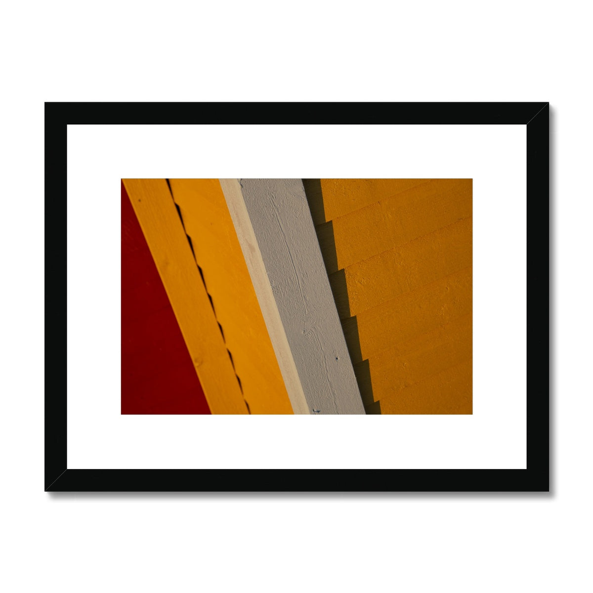 Swedish Beach Huts_7 Framed & Mounted Print