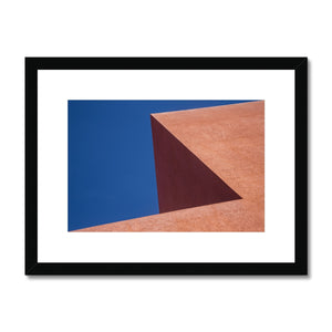 Santa Fe Adobe_4 Framed & Mounted Print