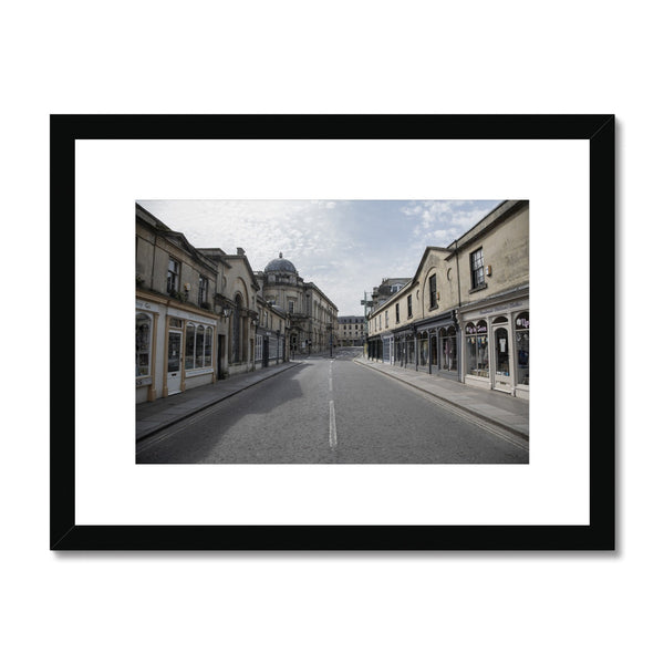 Bath Under Covid_7 Framed & Mounted Print