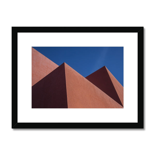 Santa Fe Adobe_6 Framed & Mounted Print